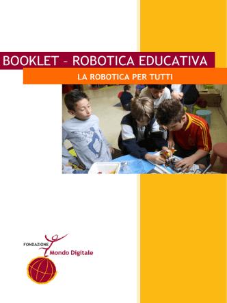 Booklet La Robotica per tutti
