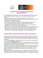 regolamento olimpiadi delle neuroscienze 2015
