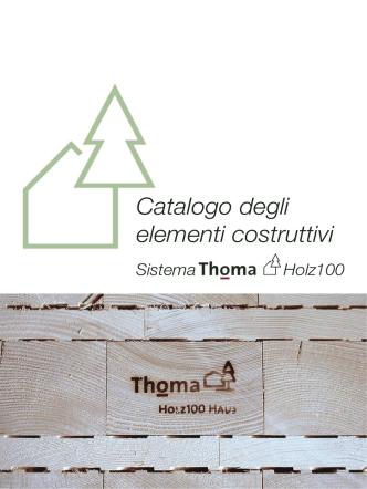 Catalogo degli elementi costruttivi Thoma Holz100