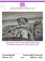 Lettera comunitaria - Chiesa Evangelica Luterana in Italia