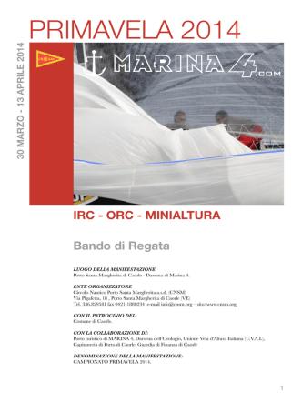Bando di Regata - Circolo nautico Santa Margherita