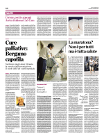 Cure palliative: Bergamo capofila