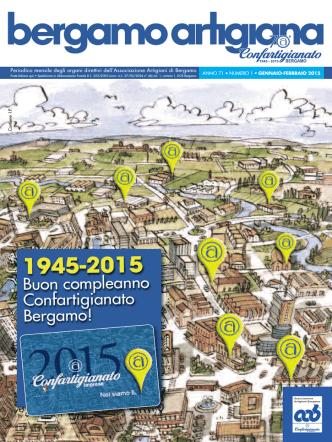 Bergamo Artigiana - gennaio/febbraio 2015