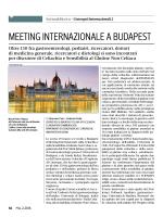Meeting Internazionele a Budapest - Associazione Italiana Celiachia