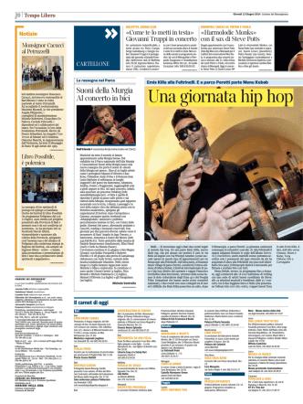 Corriere del Mezzogiorno 12/06/2014