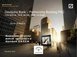 Deutsche Bank screenshow template