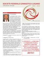 Bollettino Sociale - Società ginnastica Lugano