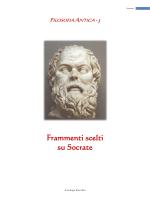 Frammenti scelti su Socrate
