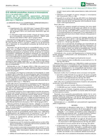 Accordi per la Competitività – 2° fase