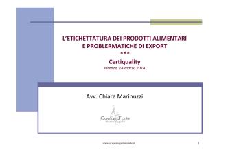 Chiara Marinuzzi