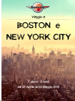 viaggio a boston e new york aprile 2015