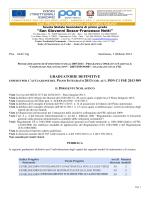 graduatoria definitiva moduli matematica e scienze