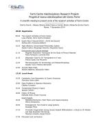 Programma - Centro Fermi
