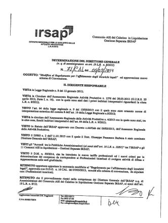 Consorzio ASI del Calatino in Liquidazione Gestione Separata