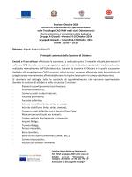 Programma [file] - Sardegna Ricerche