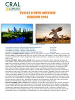 TEXAS E NEW MEXICO GIUGNO 2014