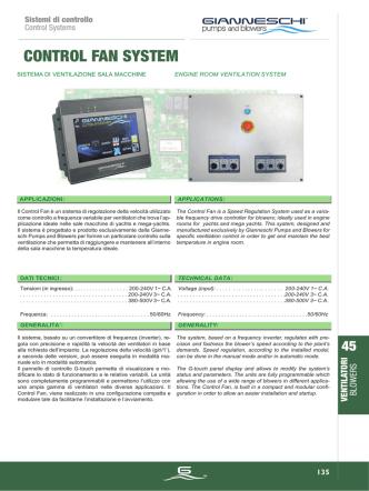 control fan system - Depco Pump Company