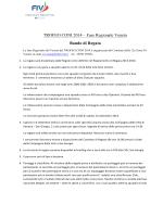 TROFEO CONI 2014 – Fase Regionale Veneto Bando di Regata