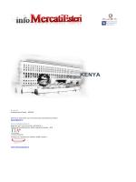 Rapporto in PDF - infoMercatiEsteri