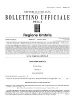 BUR Umbria - Serie generale