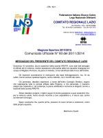 Comunicato Ufficiale N° 93 del 20/11/2014
