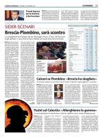 Brescia-Piombino, sarà scontro