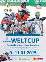 Weltcup 2015 Deutschnofen/Nova Ponente 1