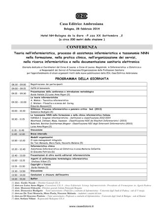 (2)PROGRAMMA-CEA-Bologna 28 febb 2014