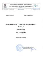 5C CHB - Liceo Scientifico Berard