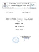 5A CHB - Liceo Scientifico Berard