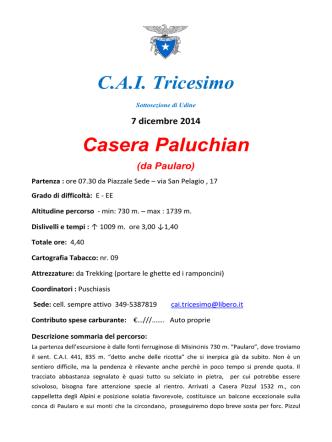 C.A.I. Tricesimo Casera Paluchian