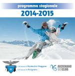 programma stagionale - CAI Montecchio Maggiore (VI)