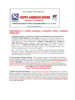 Regolamento CGJ 2014