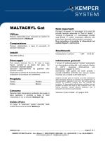 MALTACRYL Cat - KEMPER SYSTEM