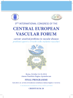 CENTRAL EUROPEAN VASCULAR FORUM current