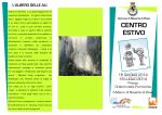 centro estivo 2014 - Comune di Noventa di Piave