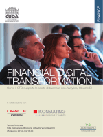 FINANCIAL DIGITAL TRANSFORMATION