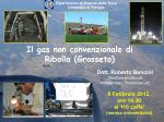 Il gas non convenzionale di Ribolla (Grosseto)