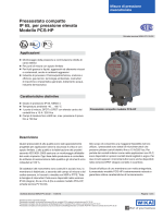 Pressostato compatto IP 65, per pressione elevata Modello PCS-HP