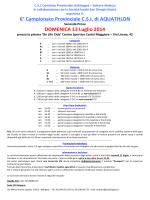 Informativa Aquathlon 2^ tappa_13 luglio 2014
