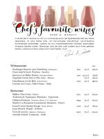 Weinkarte La Padella