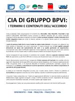 Comunicato CIA di Gruppo BPVI