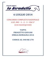 programma stradello 6/07/2014 tappa pg cce
