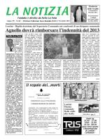 la Notizia,sabato 1 Nov.2014