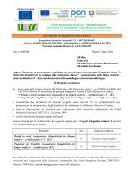 Bando esperti esterni progetti linguistici 2014