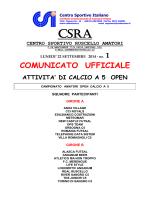 calcio5_1 - CSI Lanciano