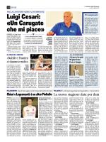 Luigi Cesari: «Un Carugate che mi piace»