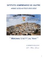Opuscolo - Istituto Comprensivo Calitri