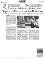 """""""valzer"""" dei varchi elettronici - comitato residenti santa maria"""