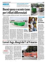 Buoni spesa o sconto tasse per i rifiuti differenziati